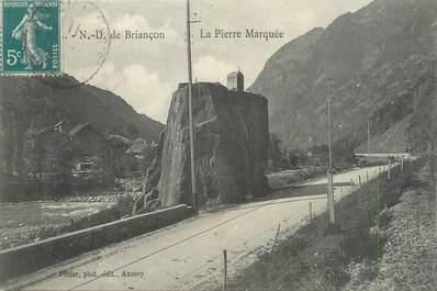 """CPA FRANCE 73 """"Notre Dame de Briançon, la pierre Marquée"""""""