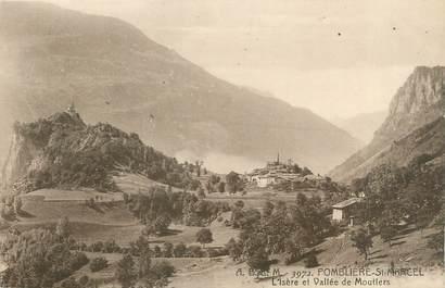 """CPA FRANCE 73 """"Plombière Saint Marcel, l'Isère et vallée de Moutiers"""""""