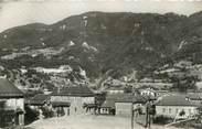 """73 Savoie CPSM FRANCE 73 """"La Plombière Saint Marcel, groupe scolaire et le centre"""""""