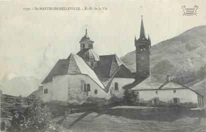 """CPA FRANCE 73 """"Saint Jean de Belleville, Notre Dame de la Vie"""""""