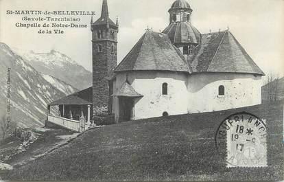 """CPA FRANCE 73 """"Saint Jean de Belleville, Chapelle de Notre Dame de la Vie"""""""
