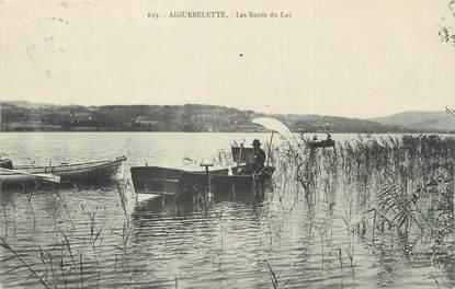 """CPA FRANCE 73 """"Aiguebelette, les bords du lac """""""