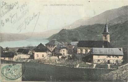 """CPA FRANCE 73 """"Aiguebelette et le lac"""""""