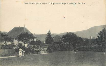 "CPA FRANCE 73 ""Domessin, vue panoramique pris du Guillot"""