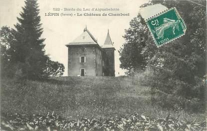 """CPA FRANCE 73 """"Lépin, le château de Chambost"""""""
