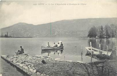 """CPA FRANCE 73 """"Lépin, le lac d'Aiguebelette et montagne de l'Epine"""""""
