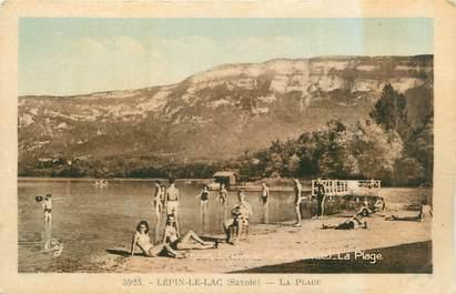"""CPA FRANCE 73 """"Lépin Le Lac, la plage"""""""
