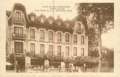 """CPA FRANCE 73 """"Lépin, hôtel chalet du lac"""""""