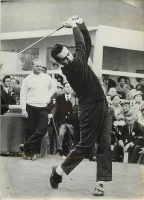 """PHOTO ORIGINALE / PHOTO DE PRESSE / SPORT """"Golf, Saint Nom la Breteche (78), Canada Cup"""""""