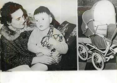 """PHOTO ORIGINALE / PHOTO DE PRESSE / BELGIQUE """"Namur, disparition mystérieuse d'un bébé, 1963"""""""