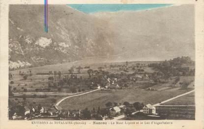 """CPA FRANCE 73 """"Nances, le Mont Lépine et le lac d'Aiguebelette """""""