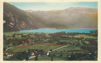 """CPA FRANCE 73 """"Nances, vue générale, le lac d'Aiguebelette"""""""