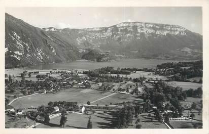 """CPSM FRANCE 73 """"Nances, et le lac d'Aiguebelette"""""""