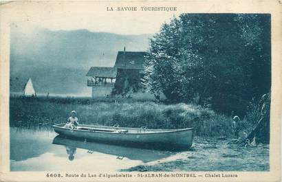 "CPA FRANCE 73 ""Saint Alban de Montbel, chalet Luzara"""