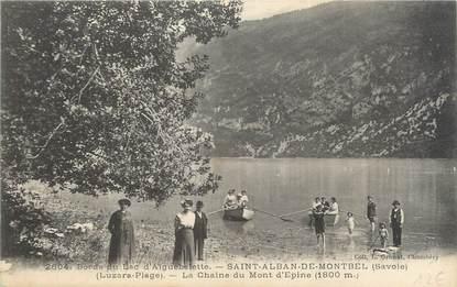 """CPA FRANCE 73 """"Saint Alban de Montbel, la chaine du Mont d'Epine"""""""