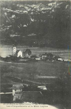 """CPA FRANCE 73 """"Saint Alban de Montbel, le villon"""""""