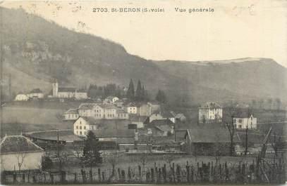 """CPA FRANCE 73 """"Saint Béron, vue générale """""""