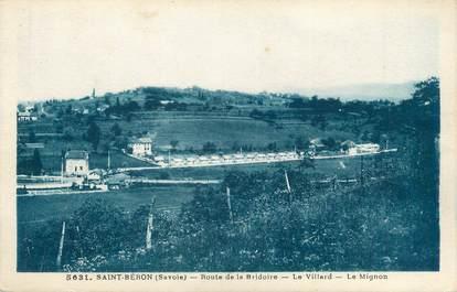 """CPA FRANCE 73 """"Saint Béron, route de la Bridoire"""""""