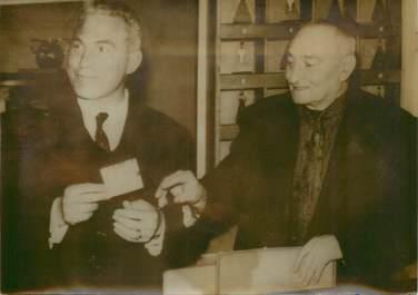 """PHOTO ORIGINALE / PHOTO DE PRESSE / """"Perpignan (66), le gagnant du Tiercé, 1963"""""""