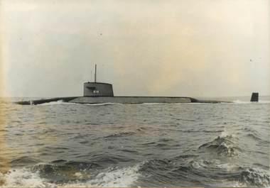 """PHOTO ORIGINALE / PHOTO DE PRESSE / SOUS MARIN """"1963, Sous marin Lafayette remis à la Marine Américaine"""""""