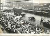 """Theme PHOTO ORIGINALE / PHOTO DE PRESSE / SOUS MARIN """"1963, Sous marin Lafayette remis à la Marine Américaine"""""""