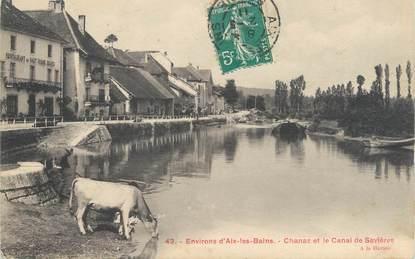 """CPA FRANCE 73 """"Chanaz, et le canal de Savière"""""""