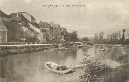 """CPA FRANCE 73 """"Chanaz et le canal de Savière"""""""