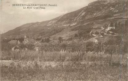 """CPA FRANCE 73 """"Serrières en Chautagne, le Mont Gros Foug"""""""