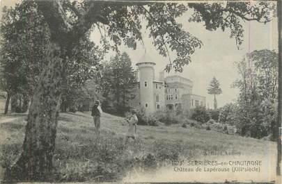 """CPA FRANCE 73 """"Serrières en Chautagne, château de Lapérouse"""""""