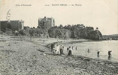 "/ CPA FRANCE 35 ""Saint Briac, Le Nessey"""