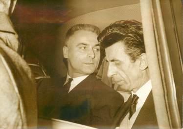 """PHOTO ORIGINALE / PHOTO DE PRESSE / ARCHITECTE """"Arrestation de Fernand Pouillon"""""""