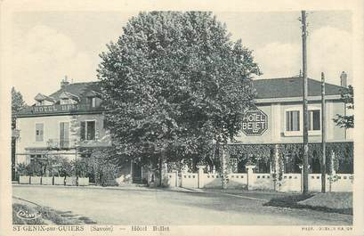 """CPA FRANCE 73 """"Saint Genix sur Guiers, hôtel Bellet"""""""