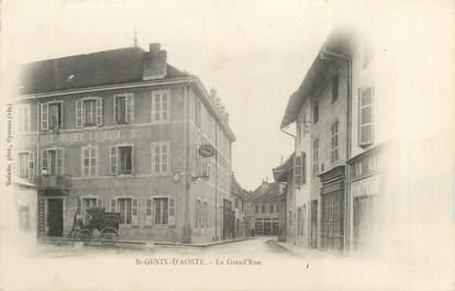 "CPA FRANCE 73 ""Saint Genix d'Aoste, la grand'rue"""