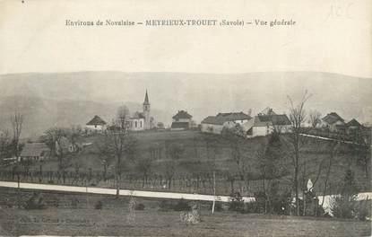 """CPA FRANCE 73 """"Meyrieux Trouet, Vue générale """""""