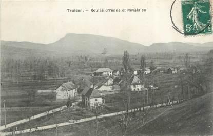 """CPA FRANCE 73 """"Truison, route d'Yenne et Novalaise"""""""