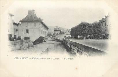"""CPA FRANCE 73 """"Chambéry, vieilles maisons sur la Leysse"""""""