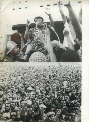 """PHOTO ORIGINALE / PHOTO DE PRESSE / DAHOMEY """"Après le coup d'Etat au Dahomey, le colonel SOGLO"""""""