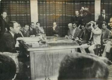 "PHOTO ORIGINALE / PHOTO DE PRESSE / MAROC ""HASSAN II en conférence de Presse"""