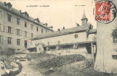 """CPA FRANCE 73 """"La Villette, la chapelle"""""""