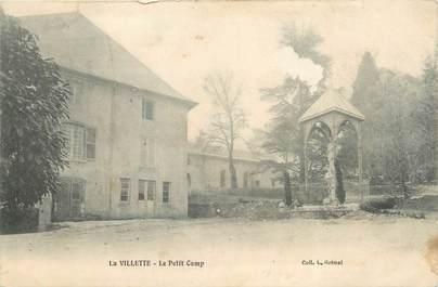 """CPA FRANCE 73 """"La Villette, le petit camp"""""""