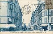 "92 Haut De Seine CPA FRANCE 92 ""Levallois Perret, rue Poccard prise de la rue Vallier"""