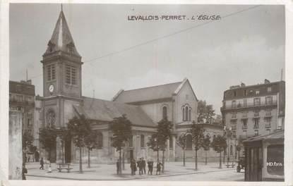 """CPA FRANCE 92 """"Levallois Perret, l'église"""""""