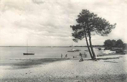 """CPSM FRANCE 33 """"Lac de Carcans Maubuisson, la plage"""""""