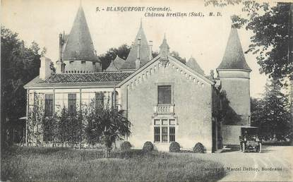 "CPA FRANCE 33 ""Blanquefort, château Breillan"""
