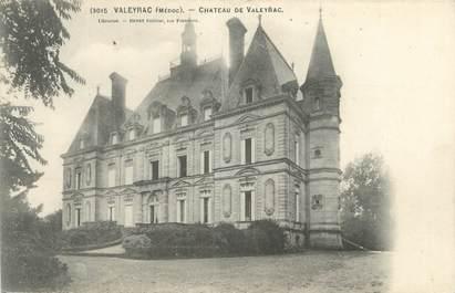 """CPA FRANCE 33 """"Valeyrac, château de Valeyrac"""""""