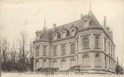 """CPA FRANCE 33 """"Villenave d'Ornon, château de Villenave"""""""