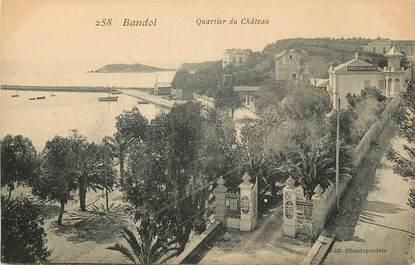 "CPA FRANCE 83 ""Bandol, quartier du Château"""
