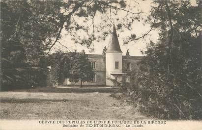 """CPA FRANCE 33 """"Domaine de Tenet Mérignac, le tondu"""""""