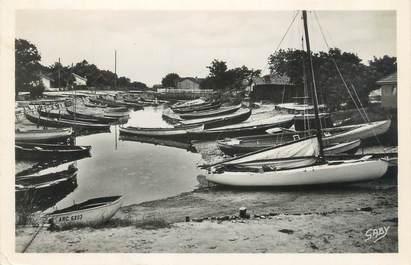 """CPSM FRANCE 33 """"Taussat les Bains, le port"""""""