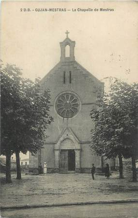 """CPA FRANCE 33 """"Gujan Mestras, la chapelle de Mestras"""""""